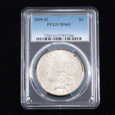 PCGS Graded MS63 1899-O Silver Morgan Dollar