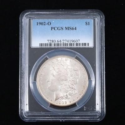 PCGS Graded MS64 1902-O Silver Morgan Dollar