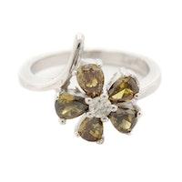 14K White Gold 1.47 CTW Diamond Ring