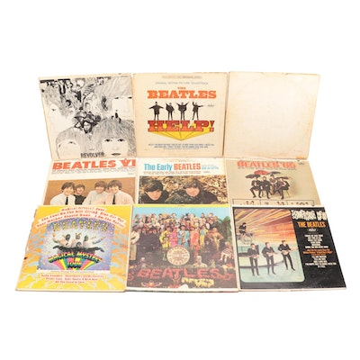 "Vinyl Records Featuring The Beatles Including ""Magical Mystery Tour"", 1960s"