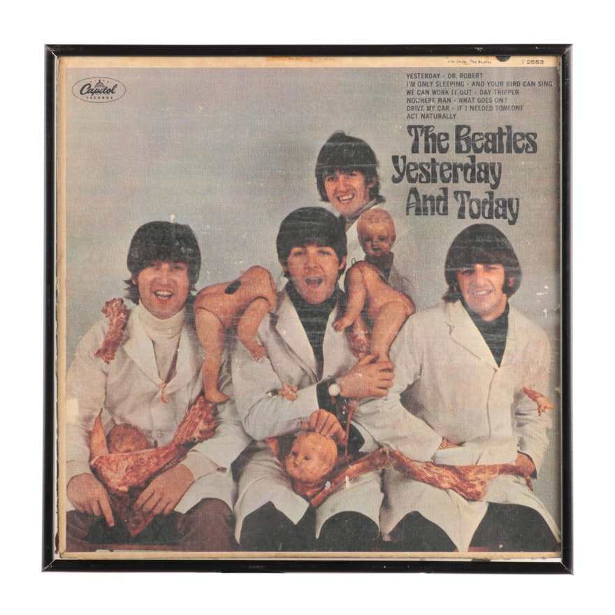 "The Beatles ""Yesterday and Today"" Mono Record with Third State Butcher Cover"
