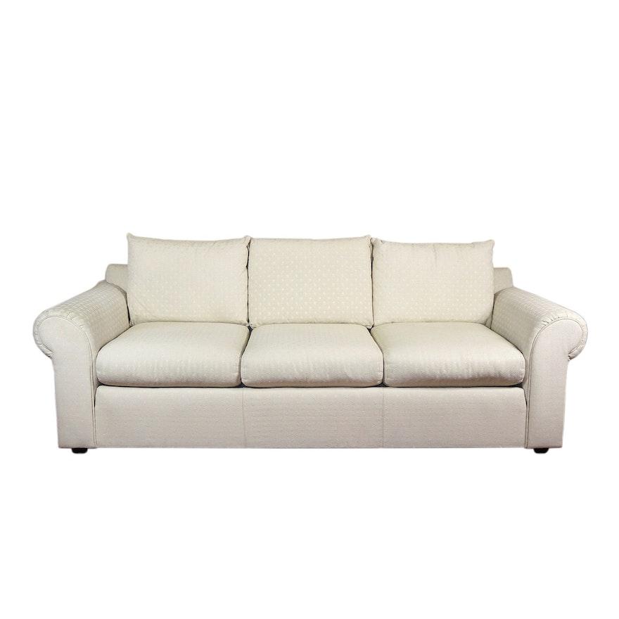 Hardin Furniture Upholstered Sofa, Late 20th Century