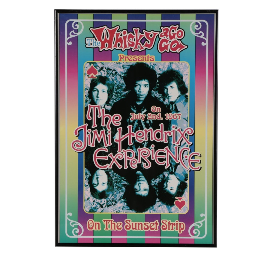 "Offset Lithographic Poster After Dennis Loren ""Jimi Hendrix Experience"", 1999"