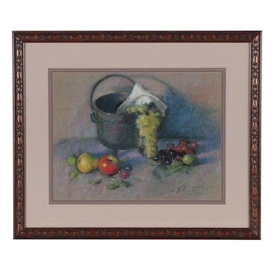 William Schultz Still Life Watercolor Painting
