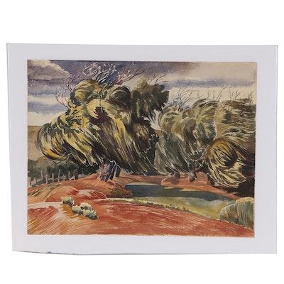 Dolores Lietze Landsape Watercolor Painting