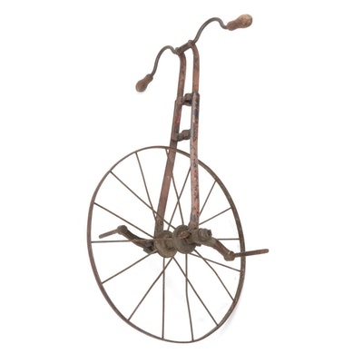 Metal Unicycle, Early 20th Century