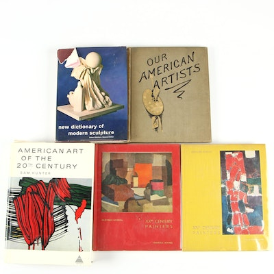 """American Art of the 20th Century"" by Sam Hunter with More Art Books"