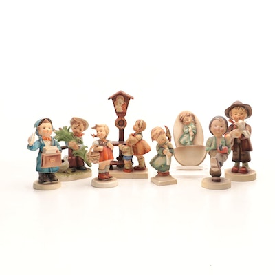 Vintage Goebel Hummel and Erich Stauffer Porcelain Figurines