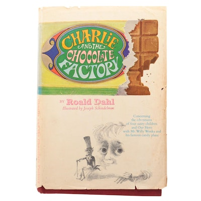 """1964 First Edition """"Charlie and the Chocolate Factory"""" by Roald Dahl"""