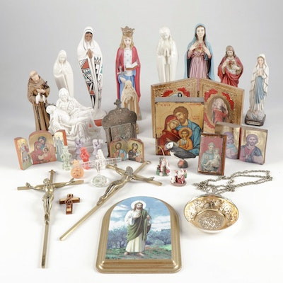 Religious Figurines and Decor from Italy, Germany and More
