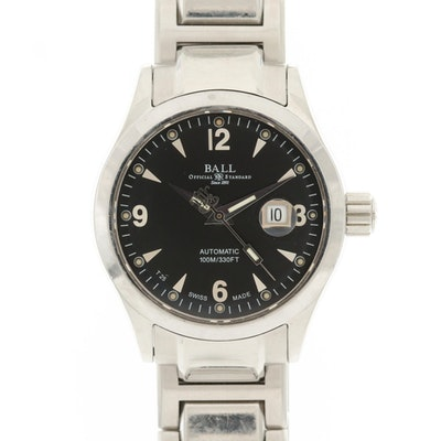 Ball Engineer II Ohio Stainless Steel Automatic Wristwatch