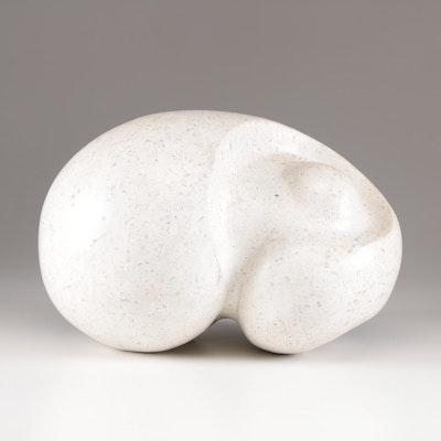 Modernist Abstract Terrazzo Sculpture