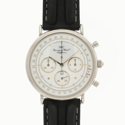 IWC Portofino Stainless Steel Quartz Chronograph Wristwatch