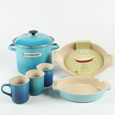 Le Creuset Marseille and Caribbean Stoneware Oval Dishes and More