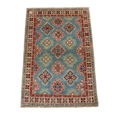 3'3 x 4'11 Hand-Knotted Afghani East Turkistan Khotan Style Rug