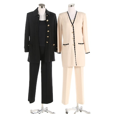 St. John Brand Pantsuits and Tank Tops