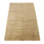 5'0 x 7'11 Hand-Knotted India Mid Century Modern Style Patwork Rug