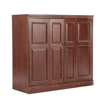 Hooker Furniture Cherry Wardrobe Cabinet
