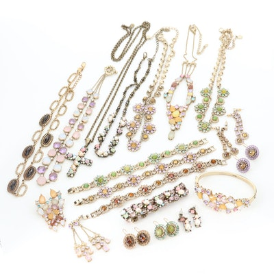 Jewelry Assortment Featuring Cultured Pearl, Glass and Ceramic