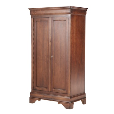 MSC Louis Philippe Style Cherry-Finished Armoire
