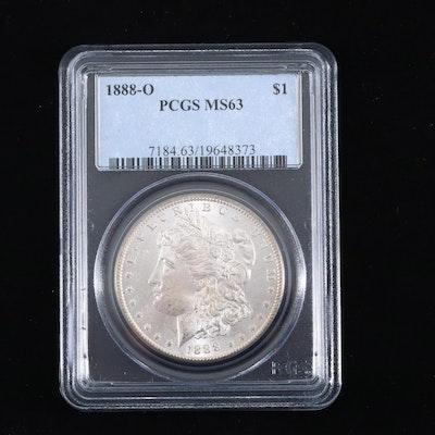 PCGS Graded MS63 1888-O Silver Morgan Dollar