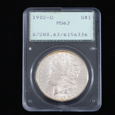 PCGS Graded MS63 1902-O Silver Morgan Dollar