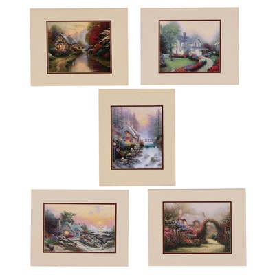 "Offset Lithographs After Thomas Kinkade ""Romance Collection"""