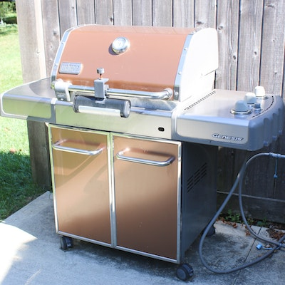 Weber EP-310 Copper Genesis Natural Gas Outdoor Grill