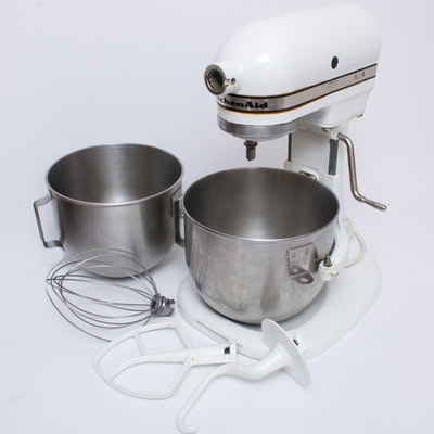 Hobart Kitchenaid K5-A 5-Quart 10 Speed Mixer, Vintage