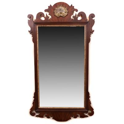 Henkel-Harris Chippendale-Style Mahogany Wall Mirror