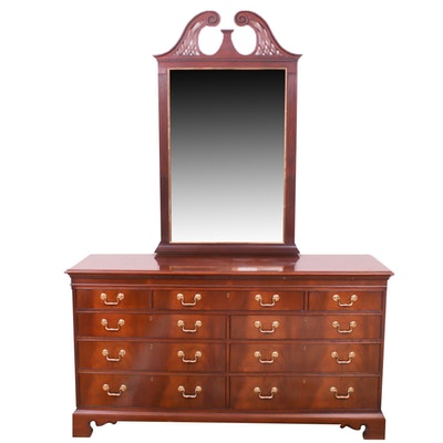 Hickory Chair Company Chippendale Style Mahogany Chest of Drawers