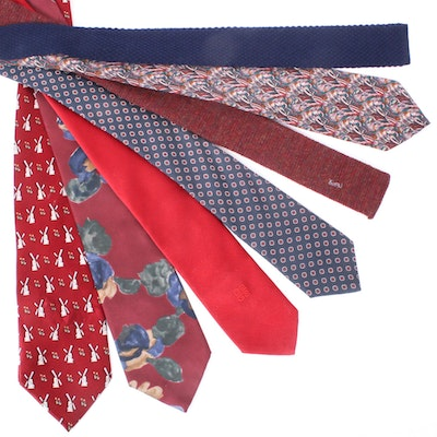 YSL, Givenchy, Liberty of London Neckties and More, Vintage
