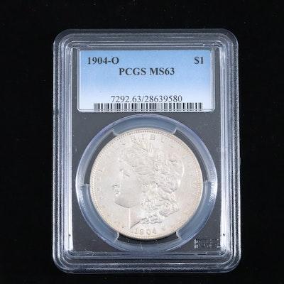 PCGS Graded MS63 1904-O Silver Morgan Dollar