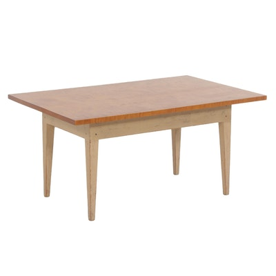 David T. Smith Tiger Maple Coffee Table