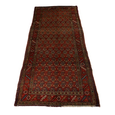 5'5 x 11'8 Hand-Knotted Northwest Persian Rug, circa 1910s