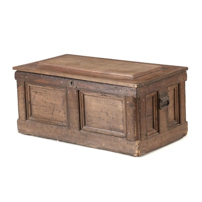 Antique Pine Tool Chest, Late 19th Century