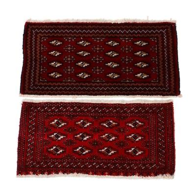 Hand-Knotted Persian Turkoman Rugs, circa 1980
