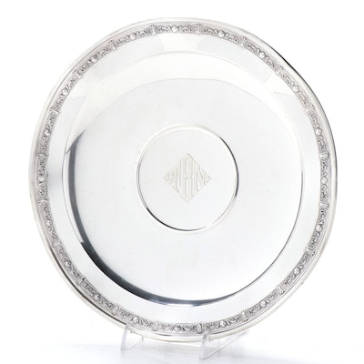 Whiting Manufacturing Co. Sterling Silver Footed Centerpiece Dish