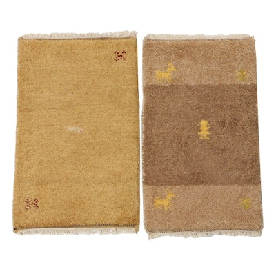Hand-Knotted Indo-Persian Gabbeh Rugs