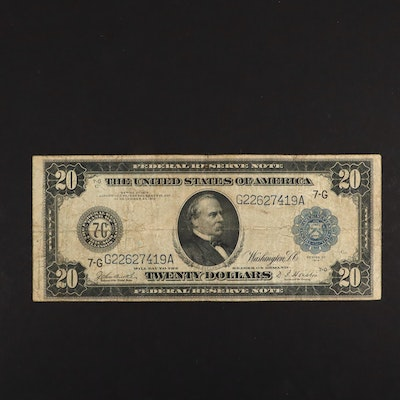 Series of 1914 U.S. $20 Federal Reserve Note