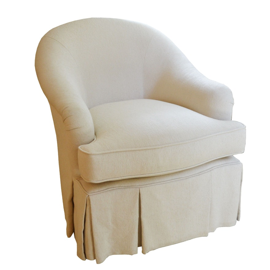 L.T. Designs by Century Furniture Club Chair, Late 20th Century