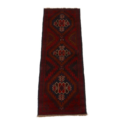 2'2 x 6'3 Hand-Knotted Baluch Runner