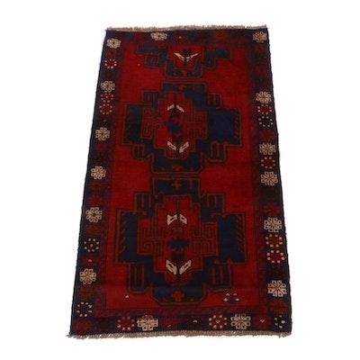 3'5 x 6'1 Hand-Knotted Caucasian Kazak Rug