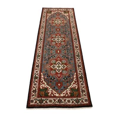 4'0 x 12'3 Hand-Knotted Indo-Persian Bakhshayesh Heriz Long Rug