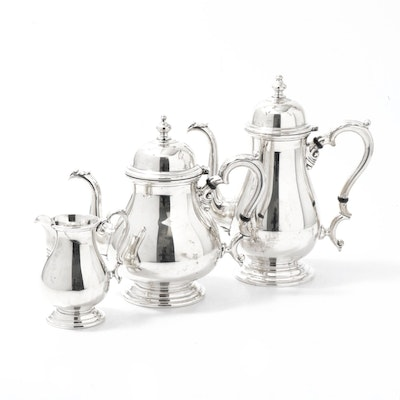 "International Silver Co. Sterling Silver ""Kenilworth"" Tea Set"