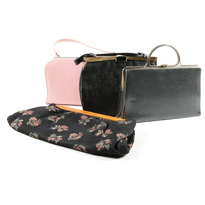 Frame Purses and Clutch Including Elite Handbags, Vintage