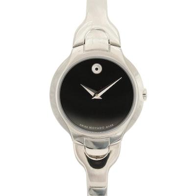 Movado Kara Stainless Steel Quartz Wristwatch