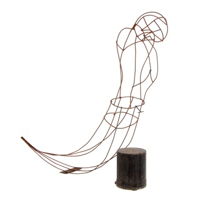 Ship Figurehead Metal Skeleton Armature