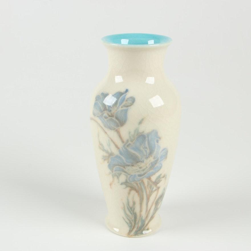 Margaret Helen McDonald Rookwood Pottery High Glaze Flower Vase, 1945