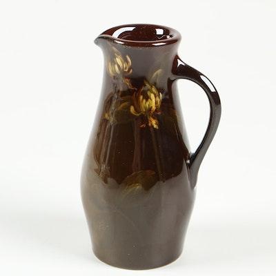 Clara Christina Linderman Rookwood Pottery Standard Glaze Small Ewer, 1899